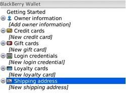 RIM Releases Blackberry Wallet