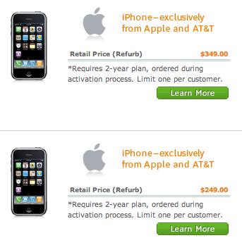 AT&T offers refurbished iPhones… again