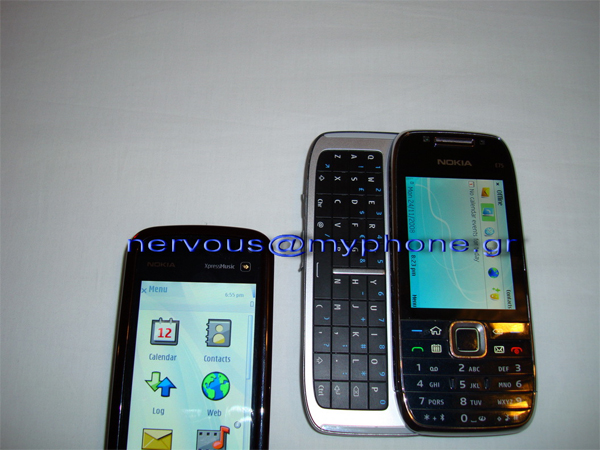 Nokia E75 Shows Up in the Wild