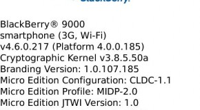BlackBerry Bold OS 4.6.0.217 leaked
