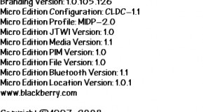 BlackBerry Storm 9530 4.7.0.86 leaks