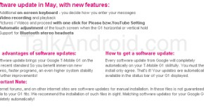 T-Mobile Germany customers getting Android Cupcake in May