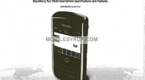 BlackBerry Tour internal spec sheet leaked; coming to Bell mid-July