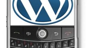 WordPress releases beta BlackBerry application