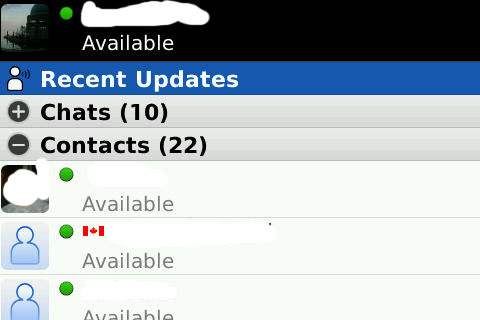 new bbm 1 Download the new BlackBerry Messenger 5.0 OTA