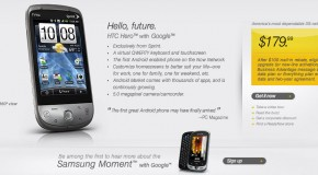 HTC Hero now live on Sprint's website