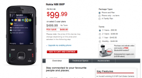 Nokia N86 Now Available For Rogers Wireless