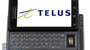 Motorola MILESTONE Coming to TELUS in early 2010