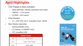 Verizon HTC Incredible launching on April 25? Coming to Best Buy on April 29?