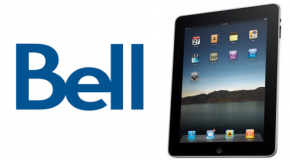 Bell announces data plans for iPad with WiFi + 3G in Canada