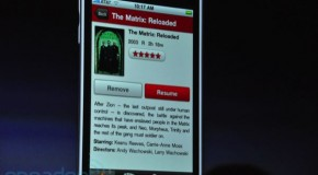 Netflix for the iPhone announced at WWDC