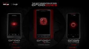Verizon launches DROID X webpage