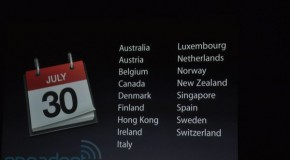 iPhone 4 coming to Canada and other countries July 30th