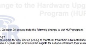 Hardware Upgrade for Rogers? After 30 months only.
