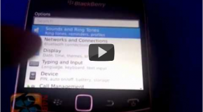 BlackBerry Bold Touch 9930 gets handled on video