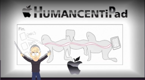 South Park pokes fun at Apple; introducing The HumanCentiPad