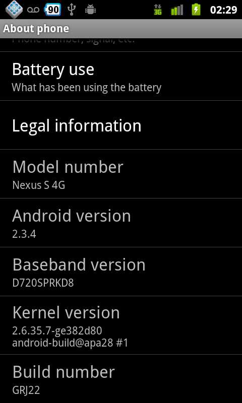 About1 Nexus S 4G Review