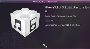 iOS 4.3.3 update coming soon; fixes location tracking issues
