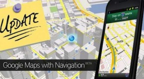 Google Maps for Android updated to 5.4.0