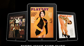Playboy iPad web app is live