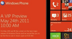 Microsoft to demo Windows Phone Mango update on May 24