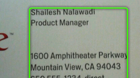 Google Goggles updated to give better results, enhanced search history, and improved business card recognition