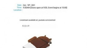 Google holding event to show off Ice Cream Sandwich on October 19