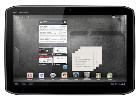DROID XYBOARD small DROID XYBOARD tablet now available on Verizon