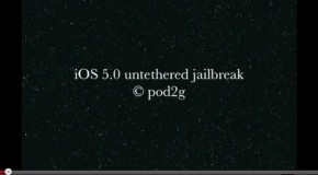 Untethered jailbreak for iOS 5 may be coming soon; shown off on video