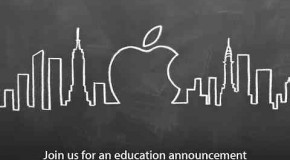 Apple holding event on January 19 for an education announcement
