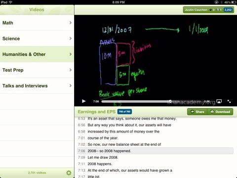 wpid Photo Mar 11 2012 820 PM Khan Academy releases iPad app
