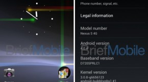 Android 4.0 leaks for Nexus S 4G