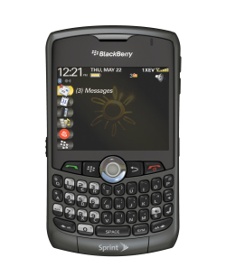 Sprint Blackberry Curve Available Today