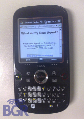 Treo 850 Specifications