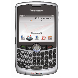 Verizon Blackberry Curve Coming Soon