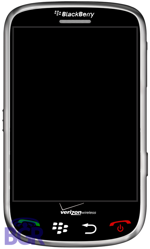 Blackberry Thunder: The Touchscreen Blackberry