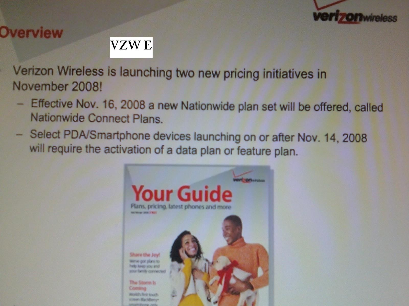 Verizon to Offer New Nationwide Connect Plans