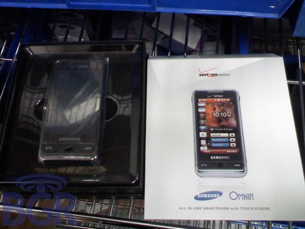Samsung Omnia Makes an Appearance