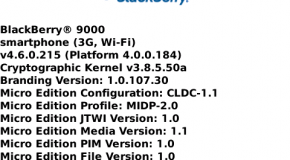 BlackBerry Bold OS 4.6.0.215 Leaked