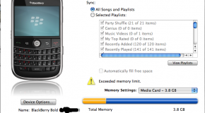 RIM releases preview version of BlackBerry Media Sync for Mac