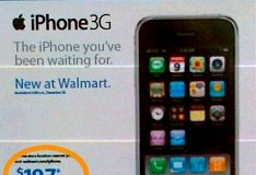 Wal-Mart to start selling iPhone on Sunday; just not for $99