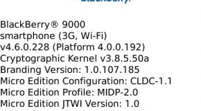 BlackBerry Bold OS 4.6.0.228 leaked