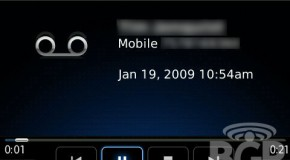 Visual Voicemail coming to BlackBerry's soon