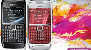 Nokia begins selling black and red E71s