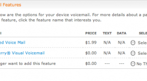 BlackBerry Visual Voicemail shows up in AT&T's OLAM