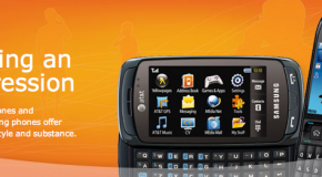 AT&T announced six new handsets coming in the next few weeks
