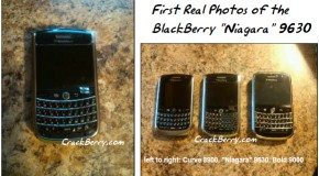 First pictures of the BlackBerry Niagara 9630 leak