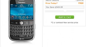 AT&T giving away free refurbished BlackBerry Bolds