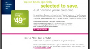 """T-Mobile launches """"Unlimited Loyalty Plan"""" nationwide"""