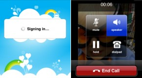 Skype is live in the iPhone app store
